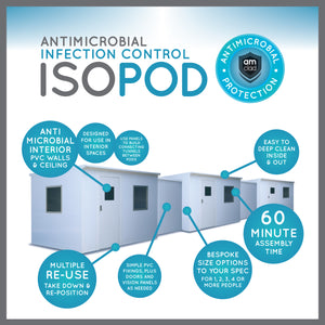 IsoPod - Antimicrobial Isolation Pod - am-guard