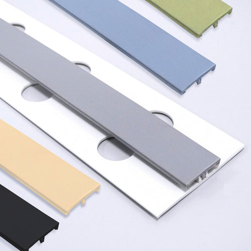 AM-Guard Matching 2-Part H-Divider Trims - AM-Clad – Antimicrobial & Hygienic PVC Wall Cladding Panels