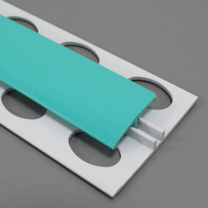 AM-Clad Hygienic 2-Part H-Divider Trims - AM-Clad – Antimicrobial & Hygienic PVC Wall Cladding Panels