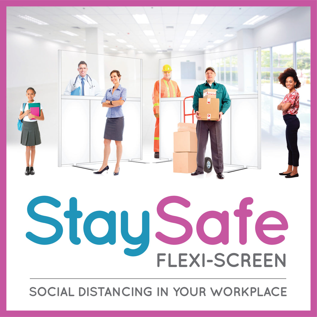 StaySafe Flexi-Screen - AM-Clad – Antimicrobial & Hygienic PVC Wall Cladding Panels