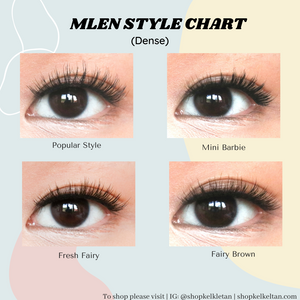 Mlen Magnetic Lashes 2 Set Bundle (Mix & Match)