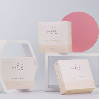 (Mix & Match Bundle of 4) Naked Blend Peach Detox Glow/Original Milk Tea