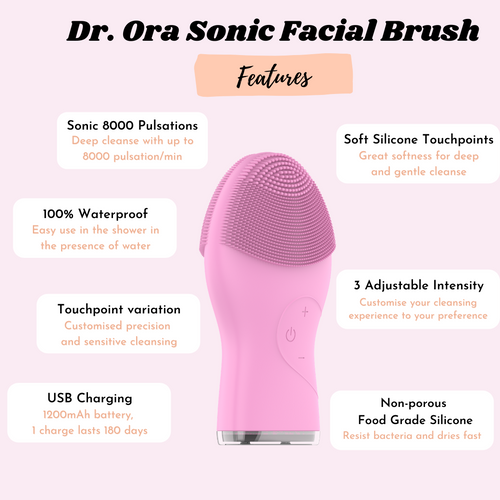 Dr Ora Sonic Facial Cleansing Brush Device