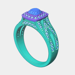 3D model of a ring
