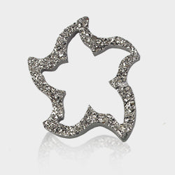 Special cut wavy star shaped item