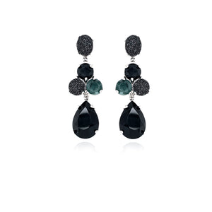 MLEA02 - EARRING - MULT.STONES - RPV International Trading LLC