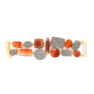 MLBR04 - BRACELET - MULT.STONES - RPV International Trading LLC