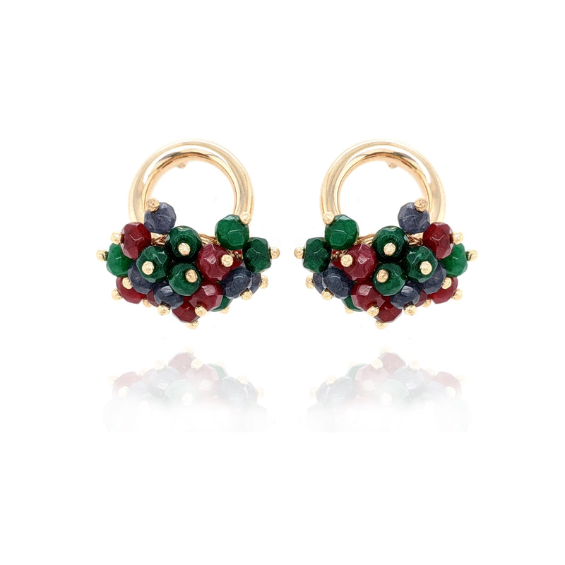 MCROZ03 - Earrings - Rosani'z - RPV International Trading LLC