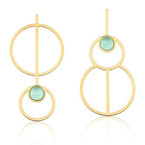 MD1106 - ABSTRACT EARRING - ICONIC - RPV International Trading LLC