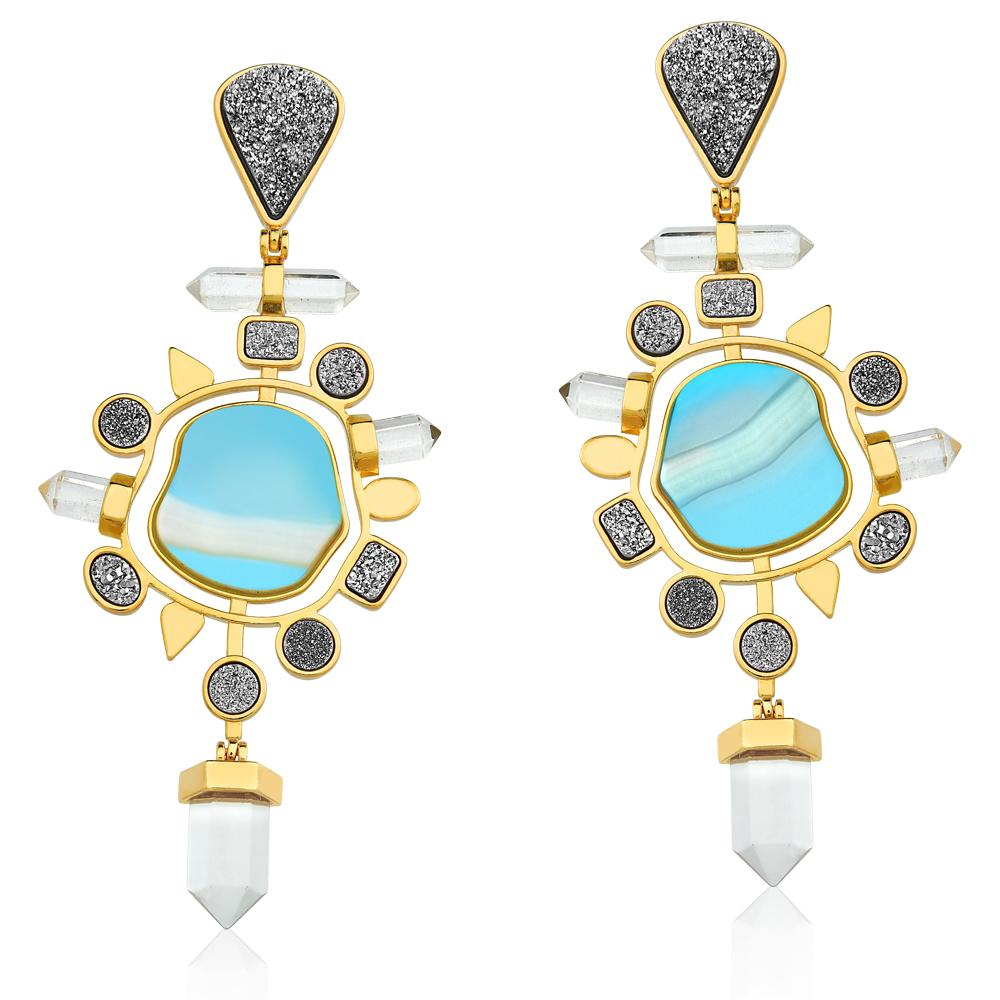 MD1164 - Nature Earring - Acquarella - RPV International Trading LLC