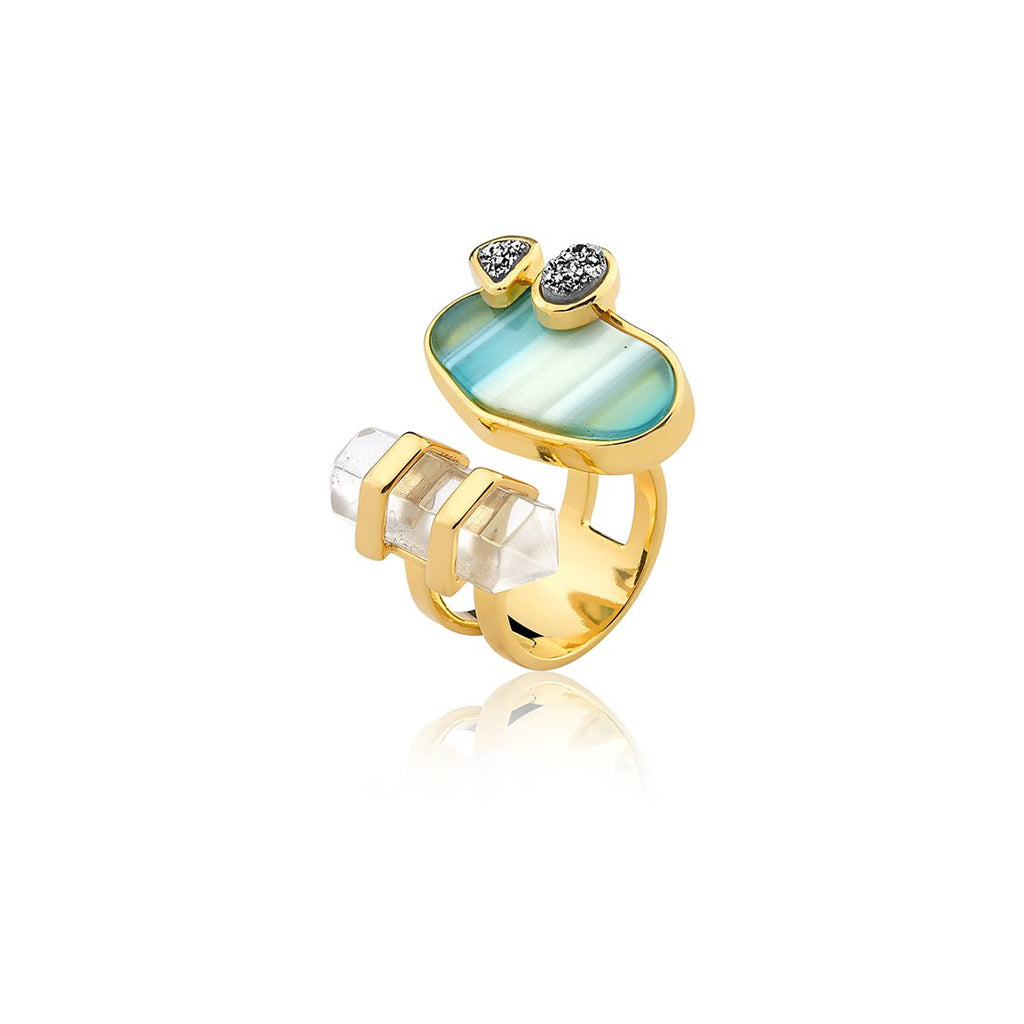 MD1166 - Nature Ring - Acquarella - RPV International Trading LLC