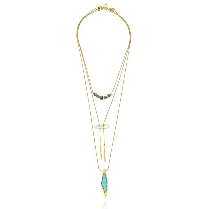 MD1175 - Necklace Beauté - Acquarella - RPV International Trading LLC
