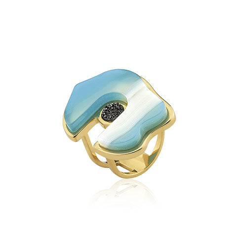 MD1186 - Joie Ring -  Acquarella - RPV International Trading LLC