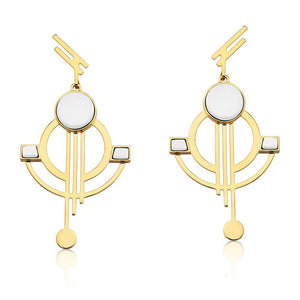 MD1220 - Architecture Earring - Millennium - RPV International Trading LLC