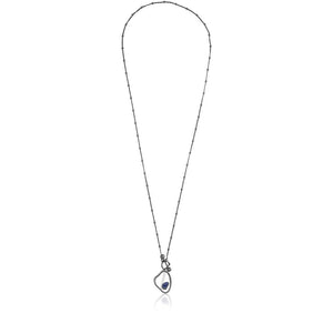 MD1416 - View Necklace - Mirror - Sodalite - Reflexo - RPV International Trading LLC