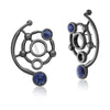 MD1423 - Infinite Earring - Mirror - Sodalite - Reflexo - RPV International Trading LLC