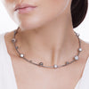 MD1424 - Infinite Choker - Mirror - Howlite - Reflexo - RPV International Trading LLC