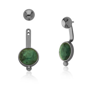 MD1425 - Sharpness Earring - Emerald - Reflexo - RPV International Trading LLC