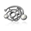 MD1426 - Infinite Ring - Mirror - Howlite - Reflexo - RPV International Trading LLC