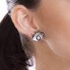 MD1428 -  Look S Earring - Mirror - Howlite - Reflexo - RPV International Trading LLC