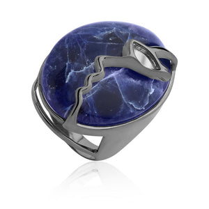 MD1437 - Appearance Ring - Mirror - Sodalite - Reflexo - RPV International Trading LLC