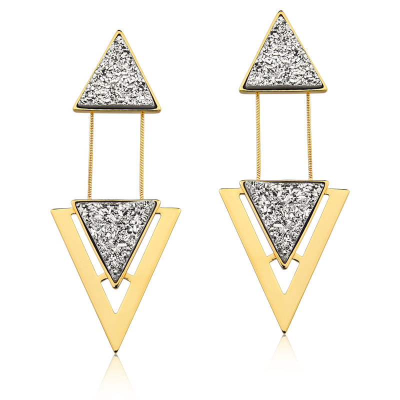 MD486 - TWO PIECES EARRING - ICONIC - RPV International Trading LLC