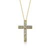 MD606B - URBAN CROSS NECKLACE - ICONIC - RPV International Trading LLC
