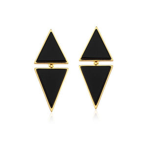 MD485B - SMALL TWO PIECES EARRING  - ICONIC - RPV International Trading LLC