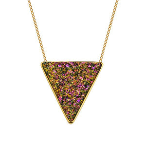 MD539 - TRIANGLE NECKLACE - ICONIC - RPV International Trading LLC