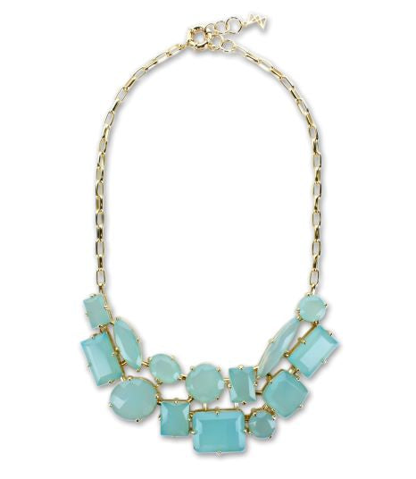 MLNE03 - NECKLACE - MULT.STONES - RPV International Trading LLC