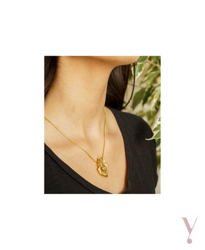 YCL007 - FACET NECKLACE - AYLA