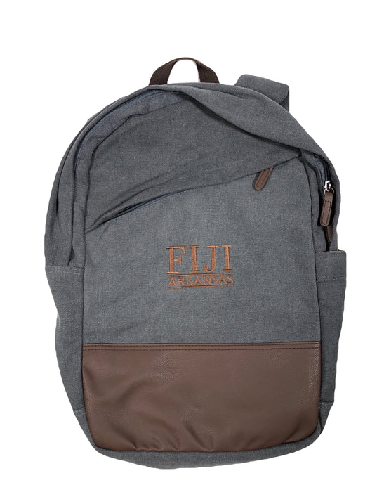 Fiji embroidered backpack