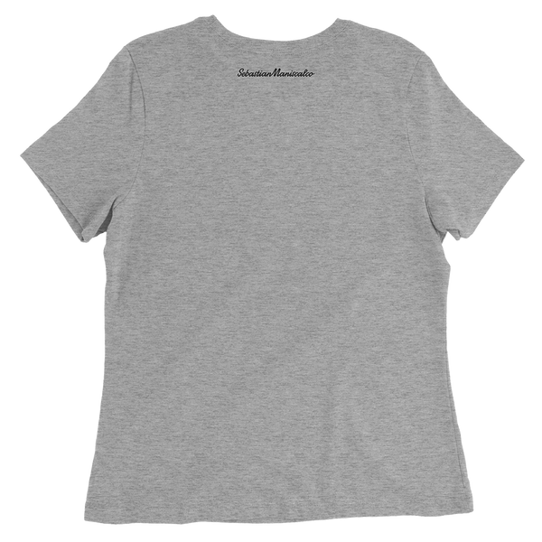 You Bother Me Grey Ladies Tee