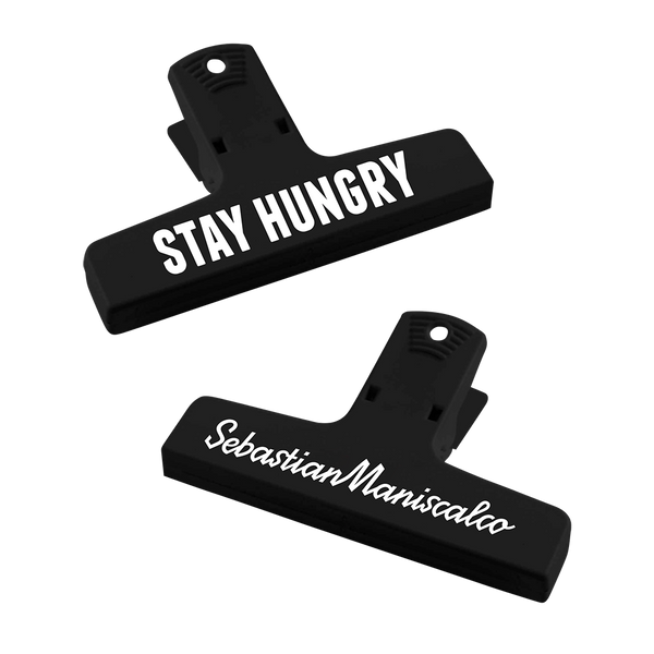 Stay Hungry Chip Clip Pair