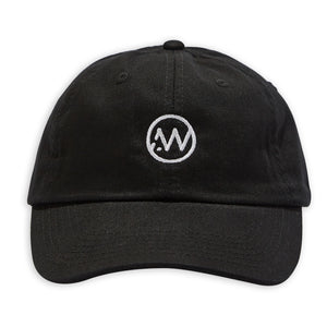 AW Logo Dad Cap - Black