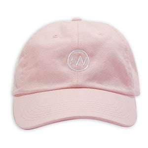 AW Logo Dad Cap - Light Pink