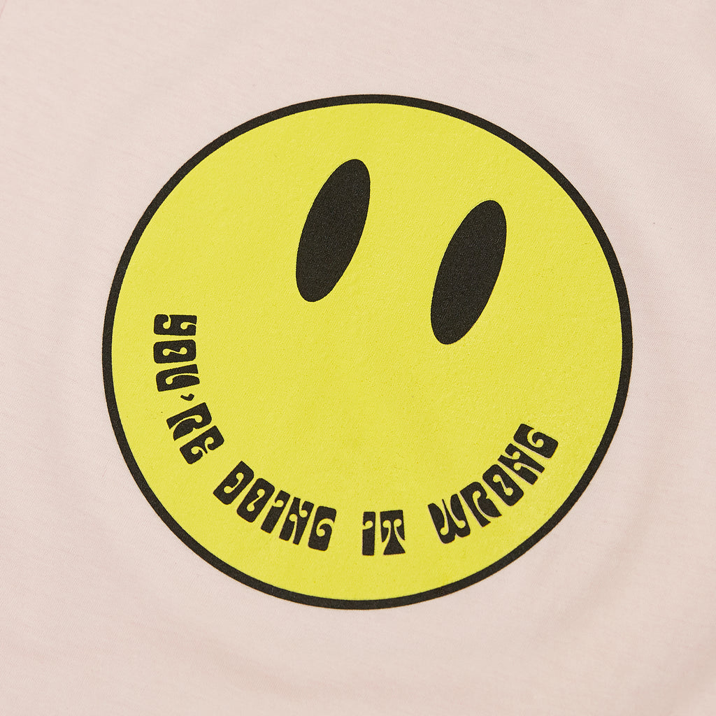 Smile Tee - Light Pink