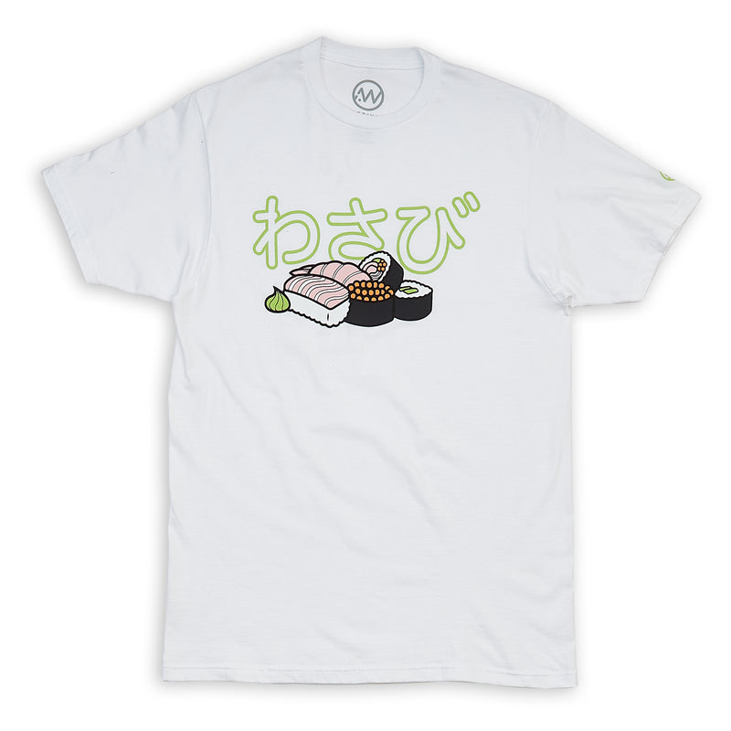 Sushi Full Color Tee - White