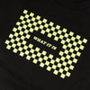 What It Is Checker Tee - Black