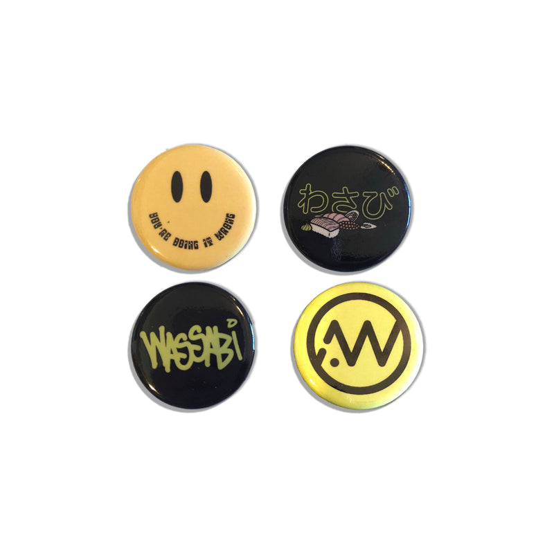 Wassabi Button Pack