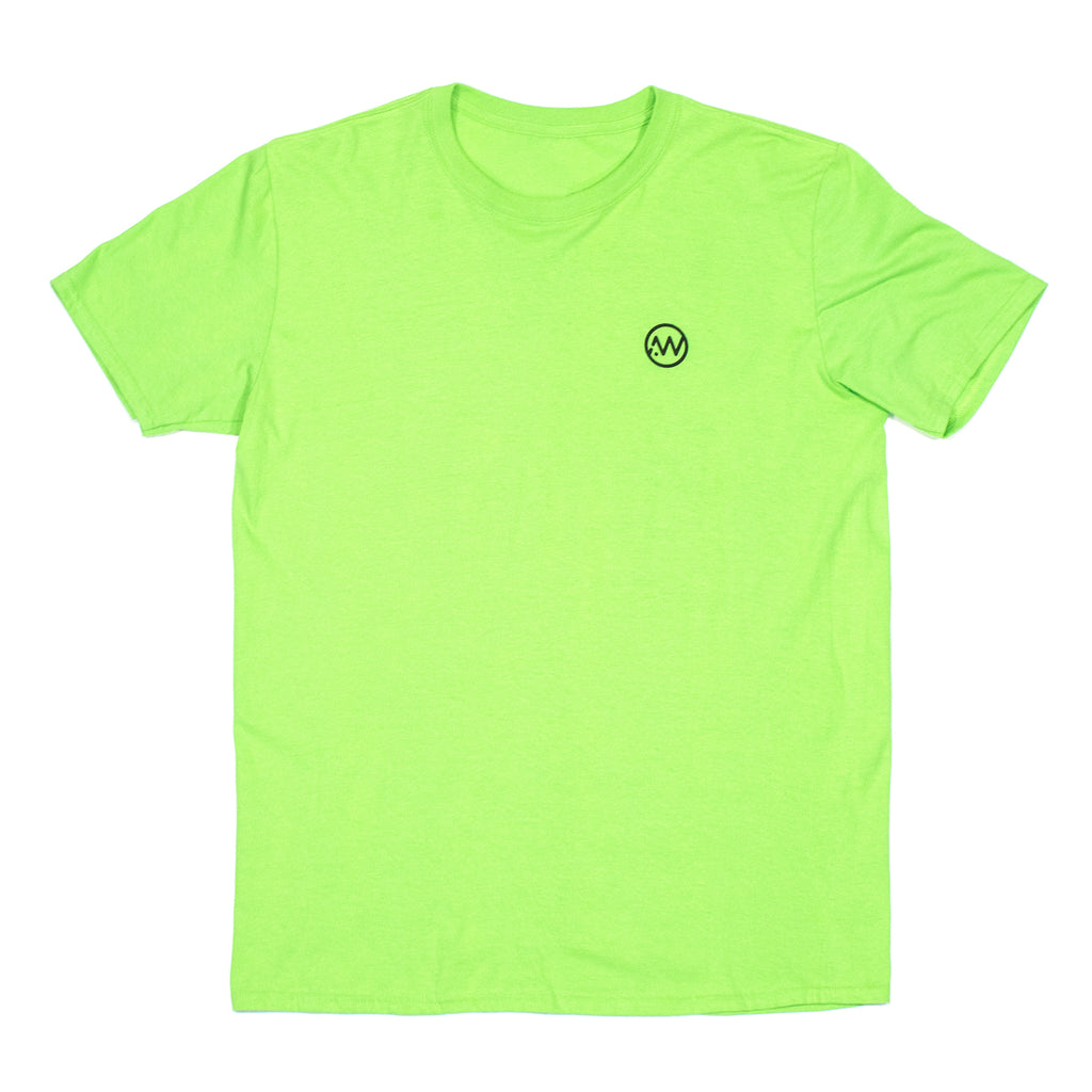 Tropical Mkay Bye Tee - Lime
