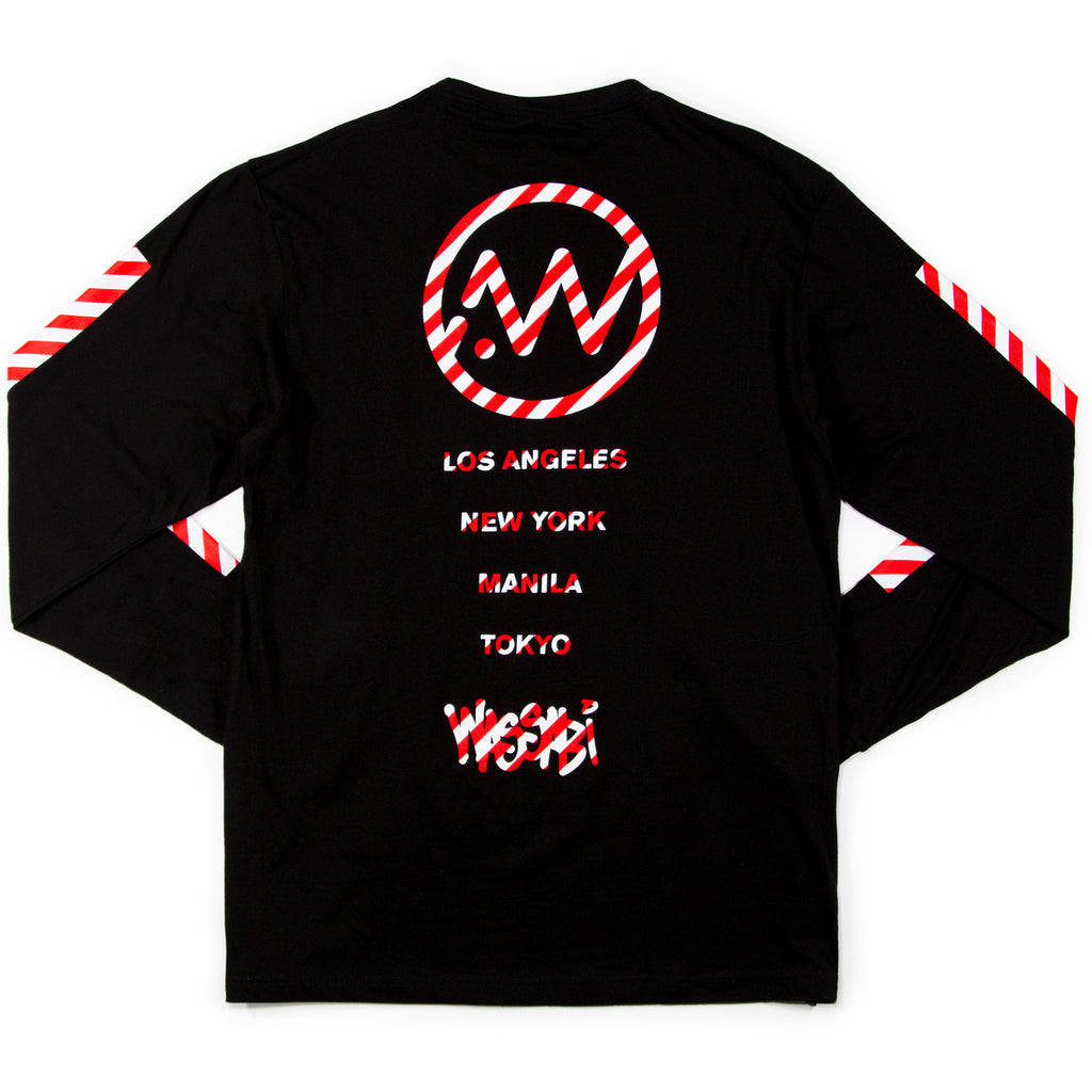 Wassabi Candy Cane Long Sleeve