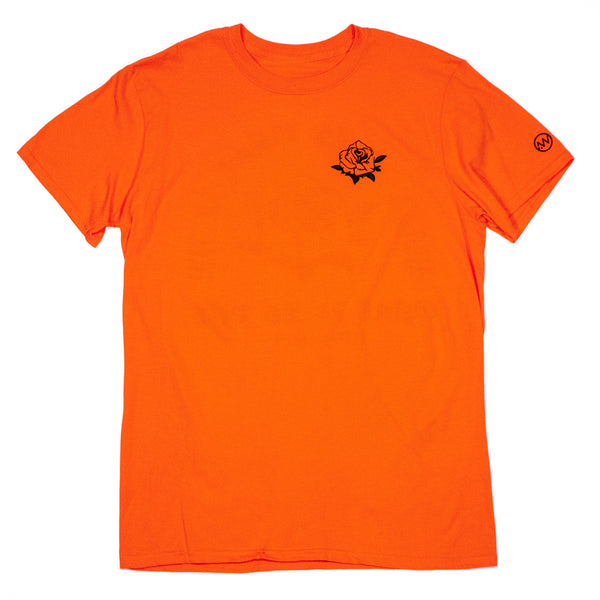 Rose What It Is Tee - Orange