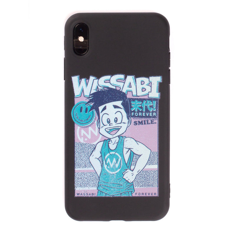 Wassabi Forever Character iPhone Case - Matte Black