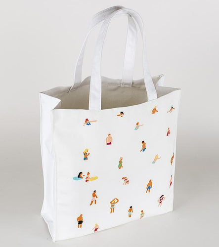Mary Matson Beach People Tote-Poppy Street