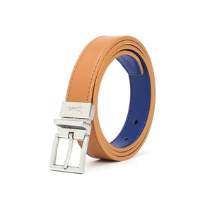 Square Buckle Reversible Belt