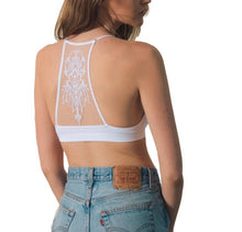 Load image into Gallery viewer, White Racerback Bralette