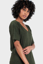 Load image into Gallery viewer, Mika T-Shirt Dress Forest-Poppy Street