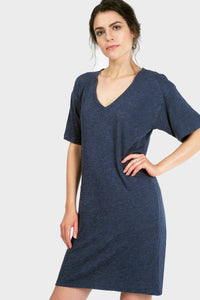 Mika T-Shirt Dress-Poppy Street