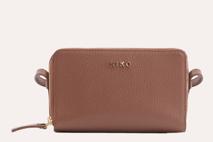 Zip Around Crossbody Pebble Leather-Poppy Street